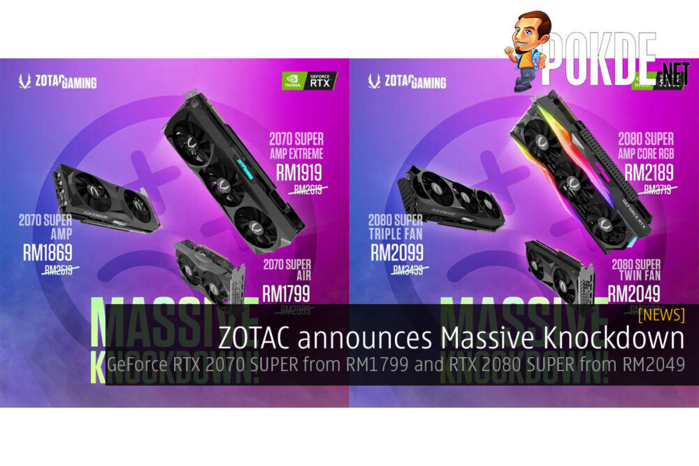 zotac geforce rtx 2070 super massive knockdown cover