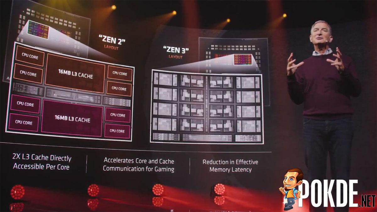 AMD Ryzen 5000 Zen 3 core design