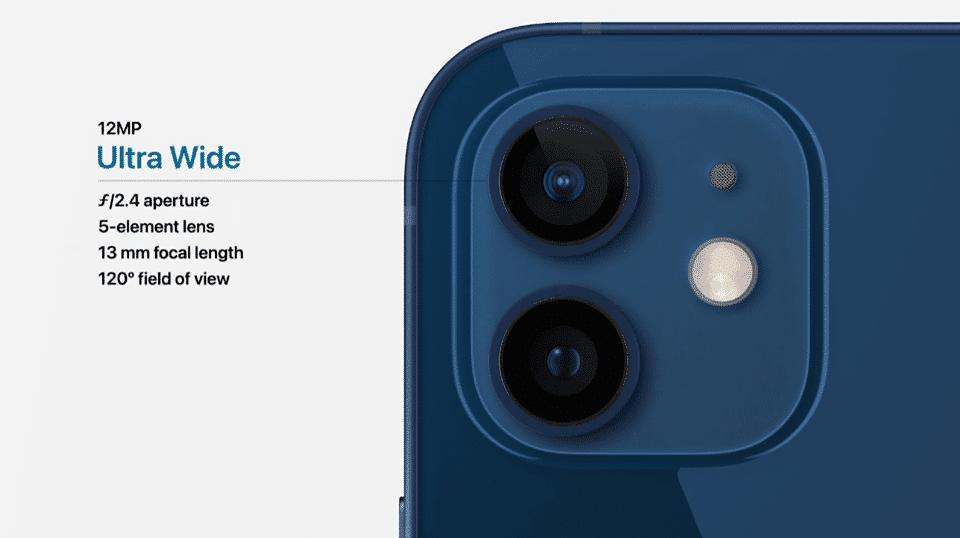 Apple iPhone 12 camera