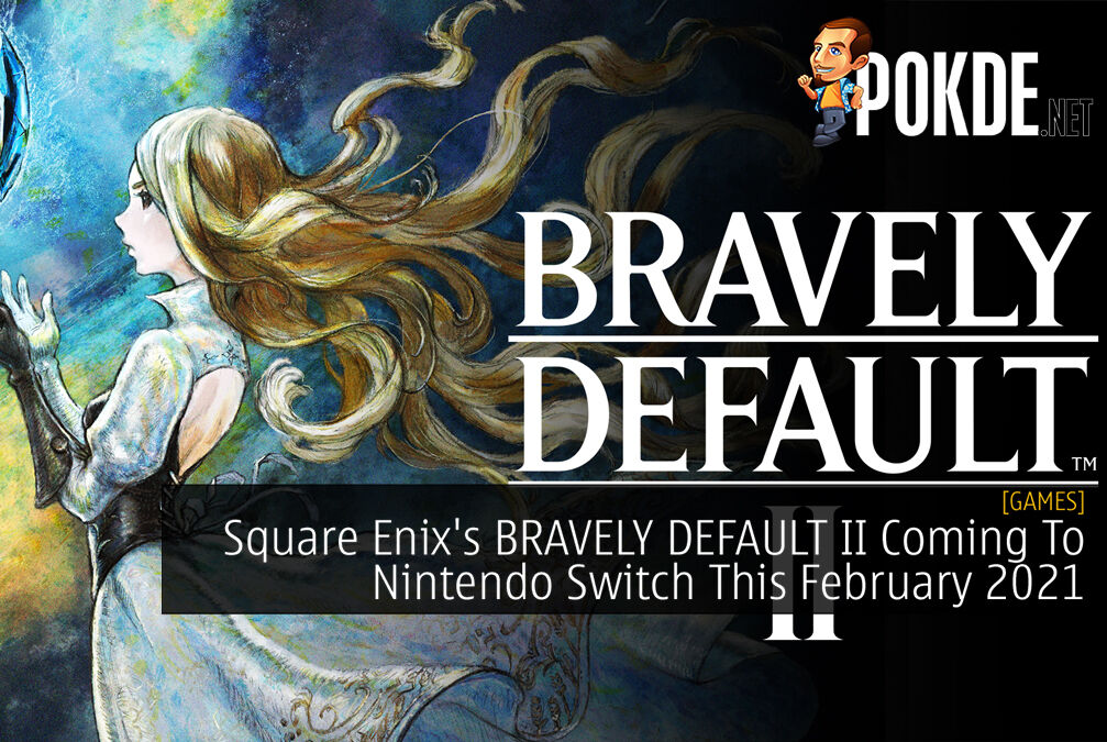 BRAVELY DEFAULT II Cover 2
