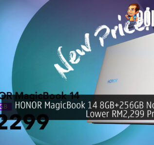 HONOR MagicBook 14 8GB+256GB Now At A Lower RM2,299 Price Tag 26