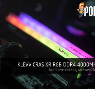 KLEVV CRAS XR RGB DDR4 4000MHz CL19 Review — sweet overclocking on sweet-looking RAM 20