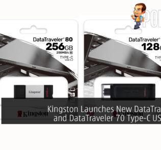 Kingston DataTraveler 80 and DataTraveler 70