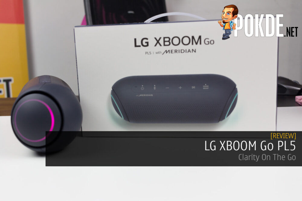 LG XBOOM Go PL5 Review — Clarity On The Go 21