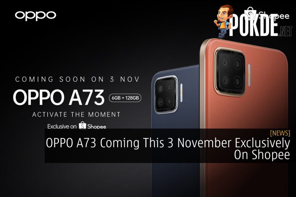 OPPO A73 Coming This 3 November Exclusively On Shopee 21