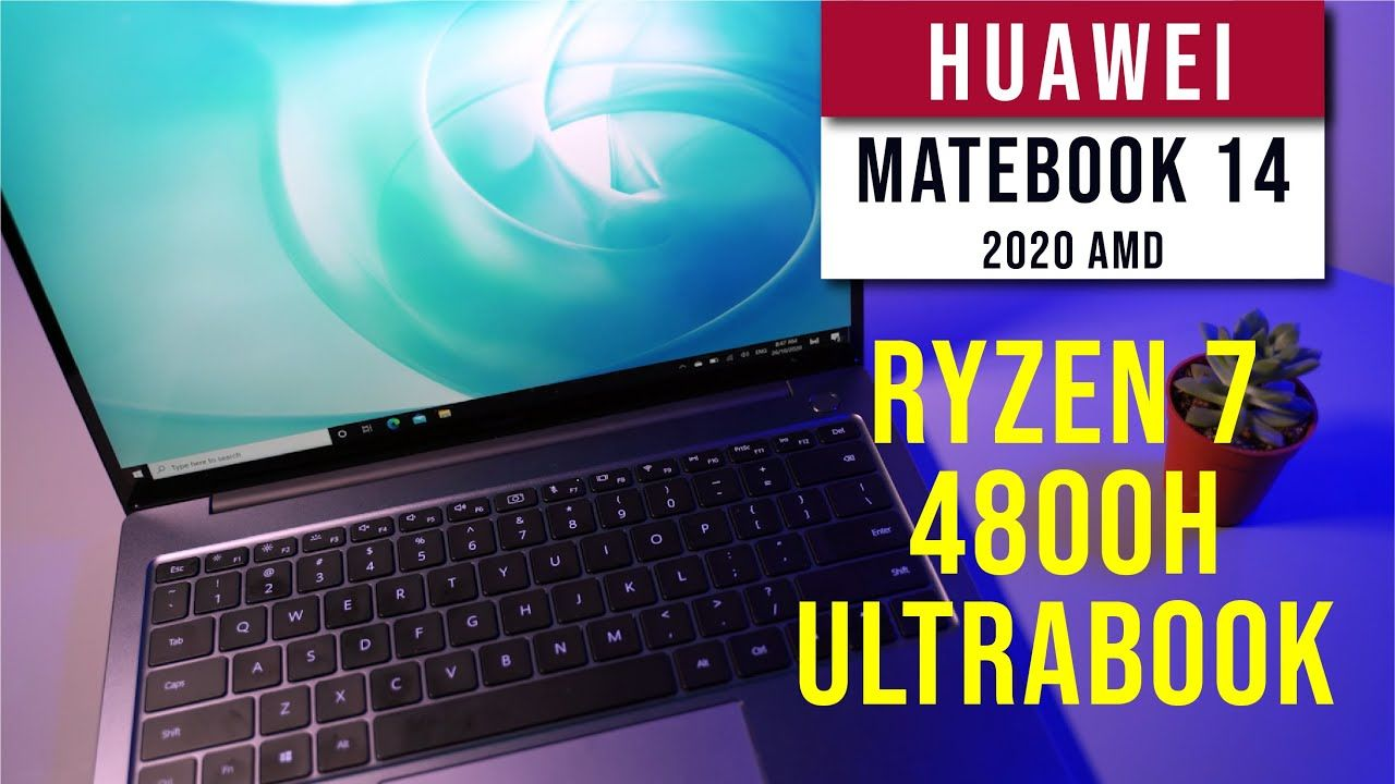 Huawei Matebook 14 2020 AMD - The ultra portable Ryzen7 4800H Ultrabook 17