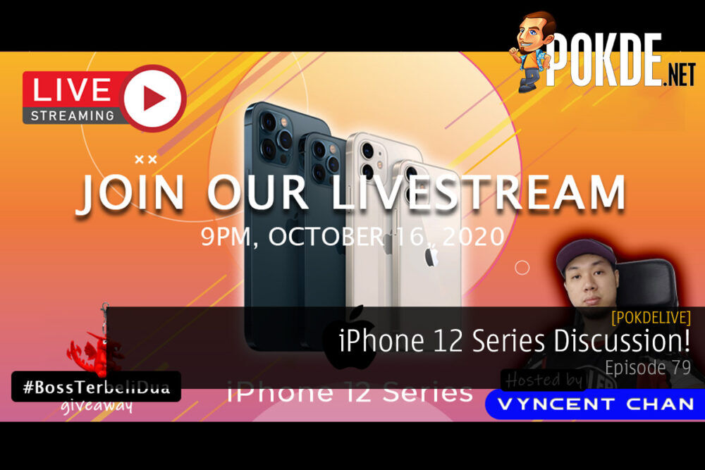 PokdeLIVE 79 — iPhone 12 Series Discussion! 22