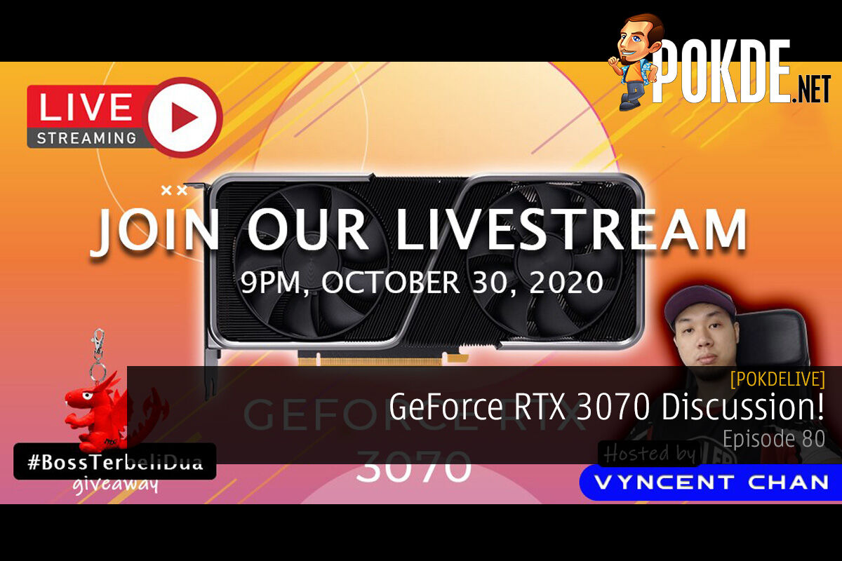 PokdeLIVE 80 — GeForce RTX 3070 Discussion! 15