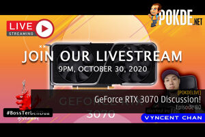 PokdeLIVE 80 — GeForce RTX 3070 Discussion! 32