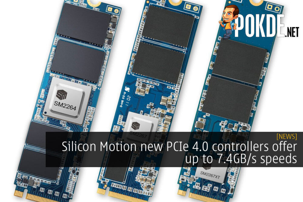 Silicon Motion PCIe 4.0 controller cover