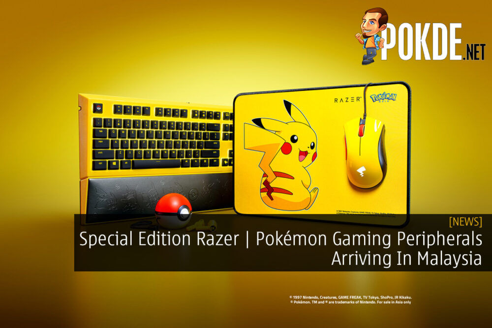 Special Edition Razer | Pokémon Gaming Peripherals Arriving In Malaysia 21