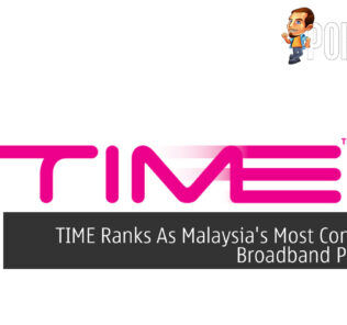 TIME Ranks As Malaysia's Most Consistent Broadband Provider 22