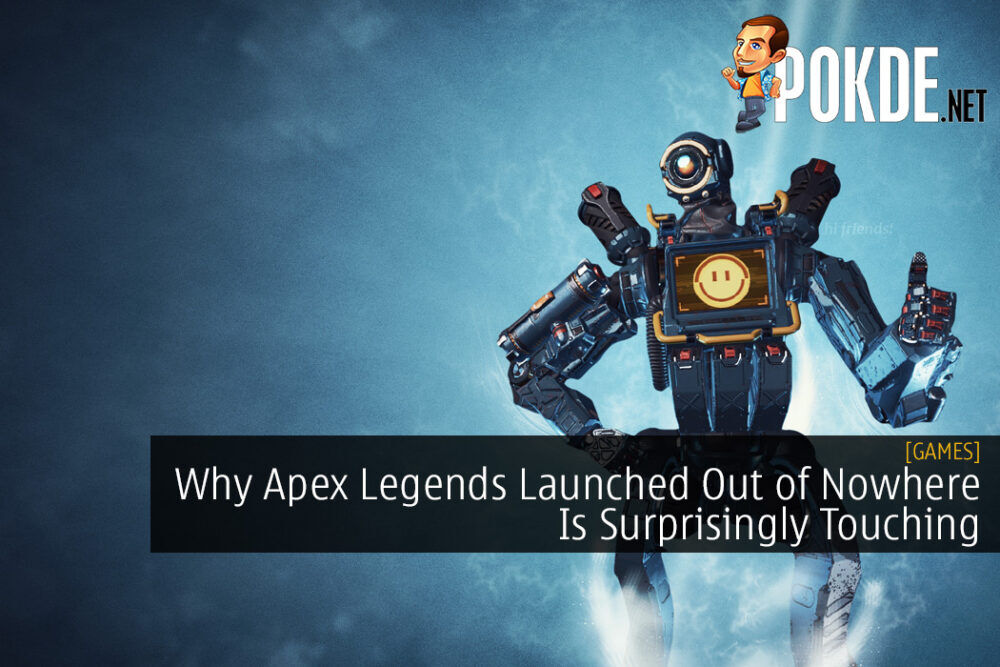 Why Apex Legends Launched Out of Nowhere Is Surprisingly Touching