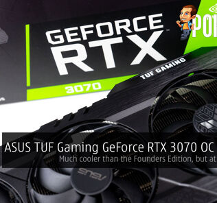 asus tuf gaming geforce rtx 3070 oc edition review cover