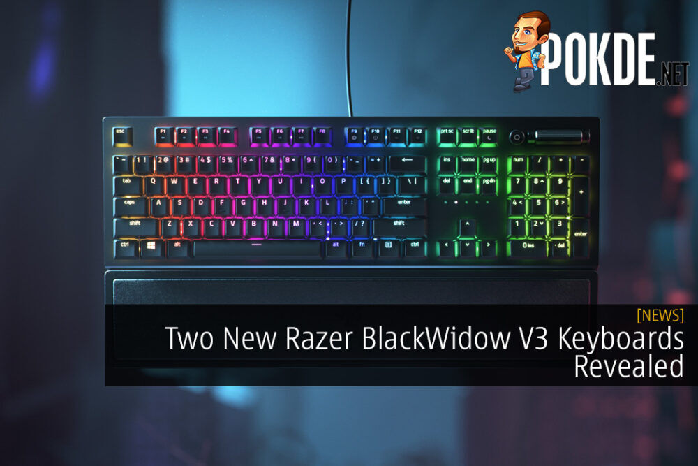 Two New Razer BlackWidow V3 Keyboards Revealed with Prices Starting from RM490