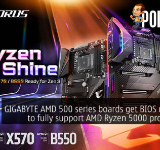 GIGABYTE AMD 500 series boards get BIOS updates to fully support AMD Ryzen 5000 processors 32