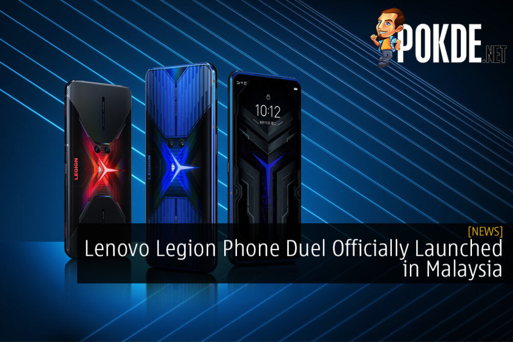 Lenovo Legion Phone Duel Officially Launched in Malaysia