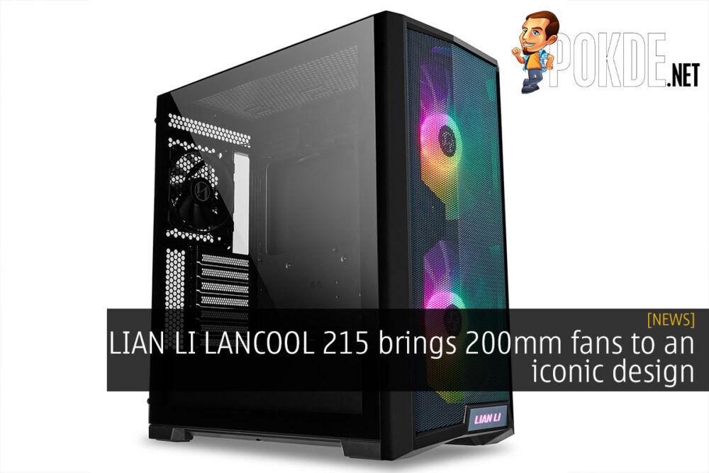 lian li lancool 215 200mm cover