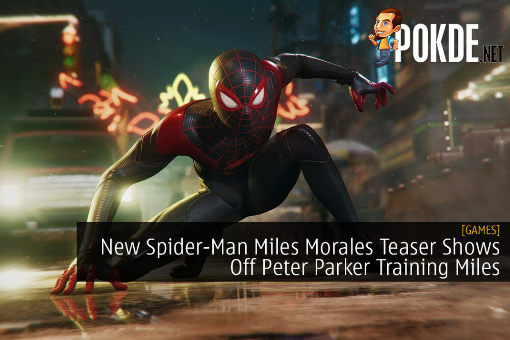 New Spider-Man Miles Morales Teaser Shows Off Peter Parker Training Miles