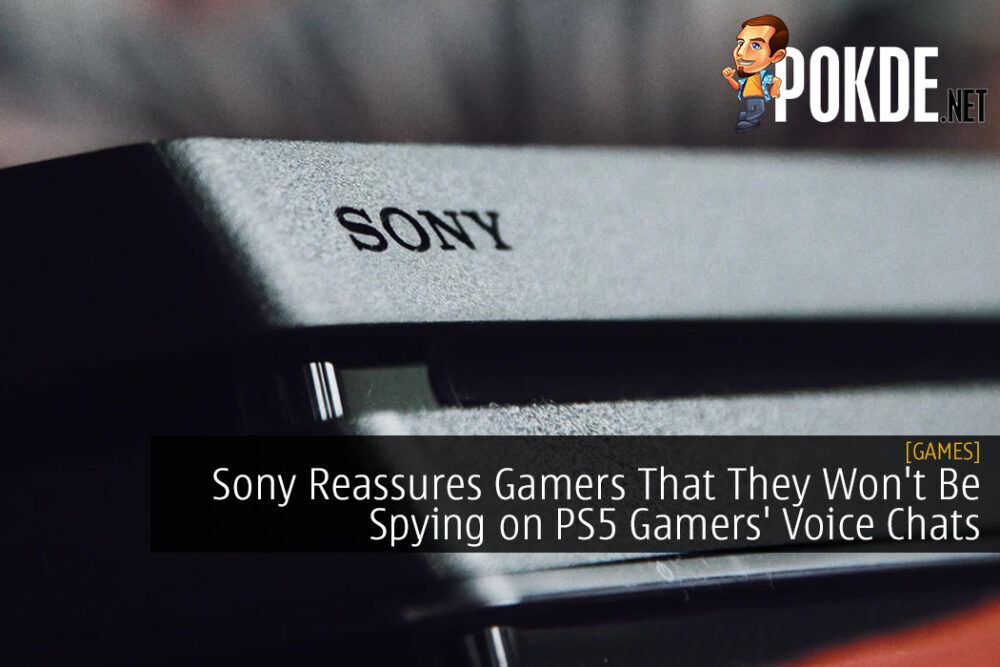 Sony Reassures Gamers That They Won't Be Spying on PS5 Gamers' Voice Chats