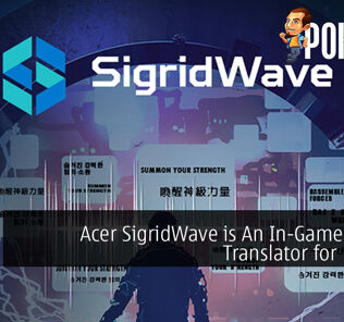 Acer SigridWave is An In-Game Live AI Translator for Esports