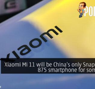 xiaomi mi 11 snapdragon 875 china cover