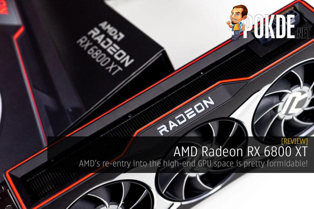 AMD Radeon RX 6800 XT review cover