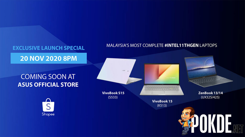 ASUS 11th Gen Intel Core laptops Shopee