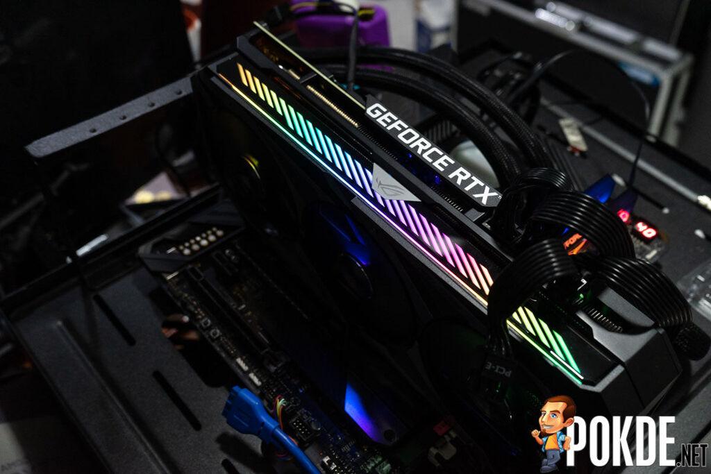 ASUS ROG Strix GeForce RTX 3080 OC Edition Review RGB