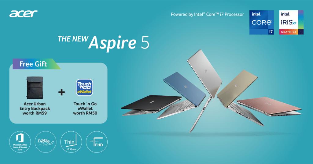 Acer Aspire 5 promo (Custom)