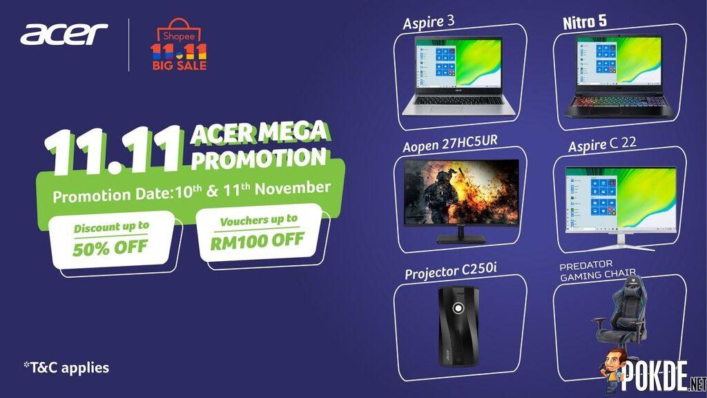 Acer Malaysia Shopee 11.11