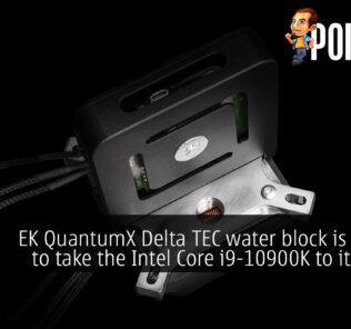 EK QuantumX Delta TEC water block cover