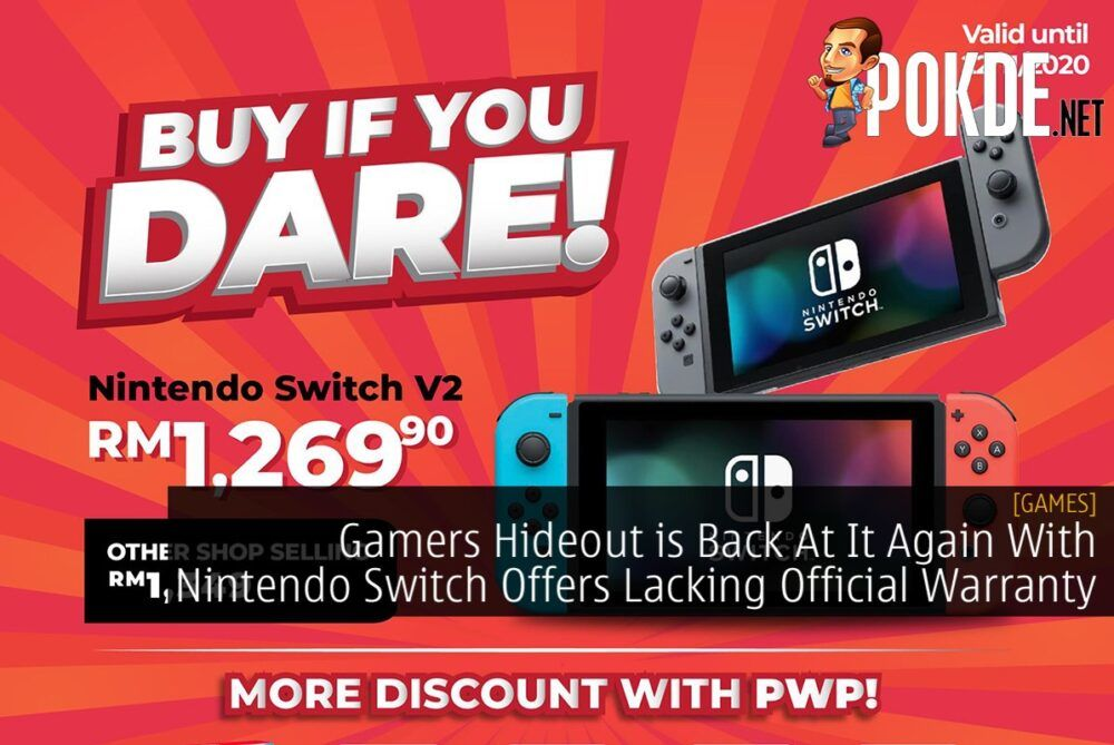 Gamers Hideout Switch V2 promo cover