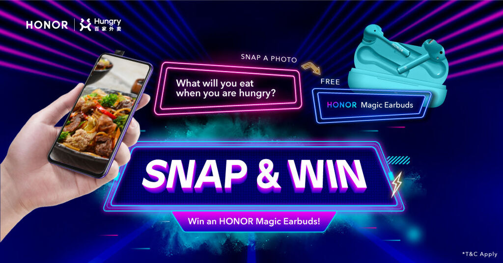 HONOR Malaysia Partners With Hungry — Win A Brand New Smartphone By Ordering Food! 22