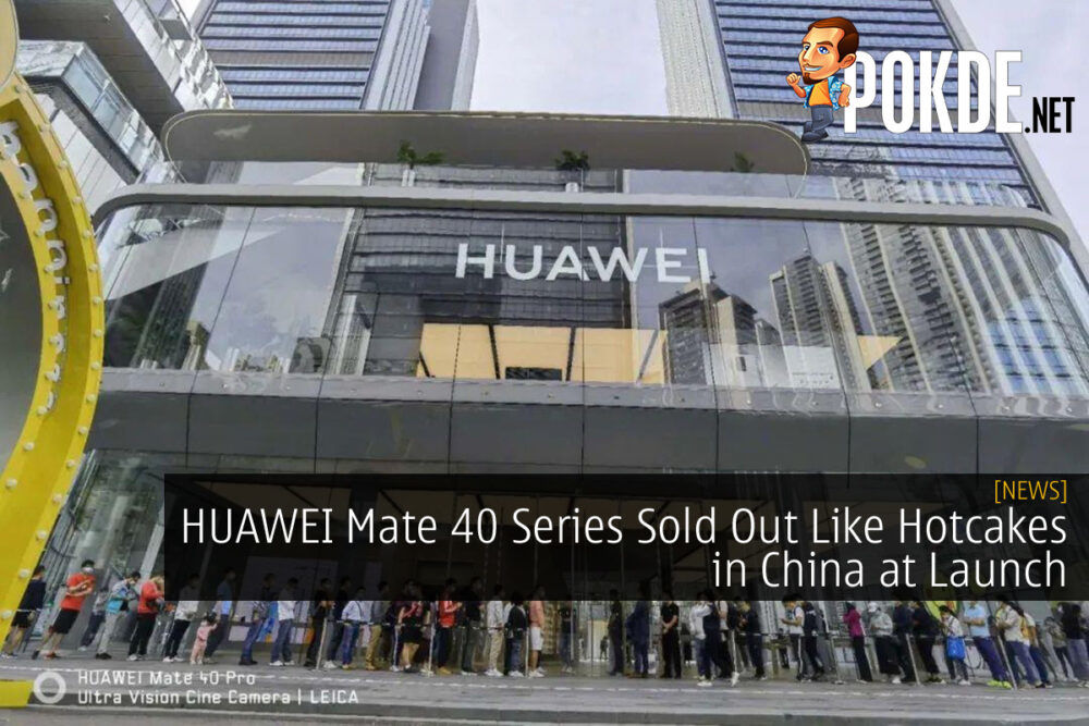 HUAWEI Mate 40 Series Sold Out cover