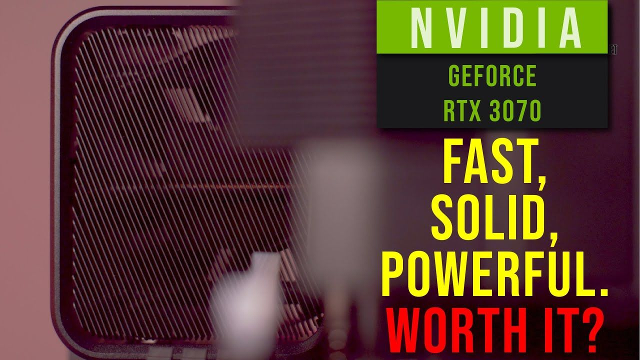 NVIDIA GeForce RTX 3070 Founders Edition Review - the big $499 upgrade you have been waiting for? 20