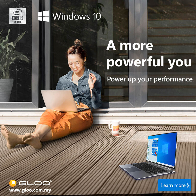 Defining a Modern PC with GLOO x Intel x Windows 10 23