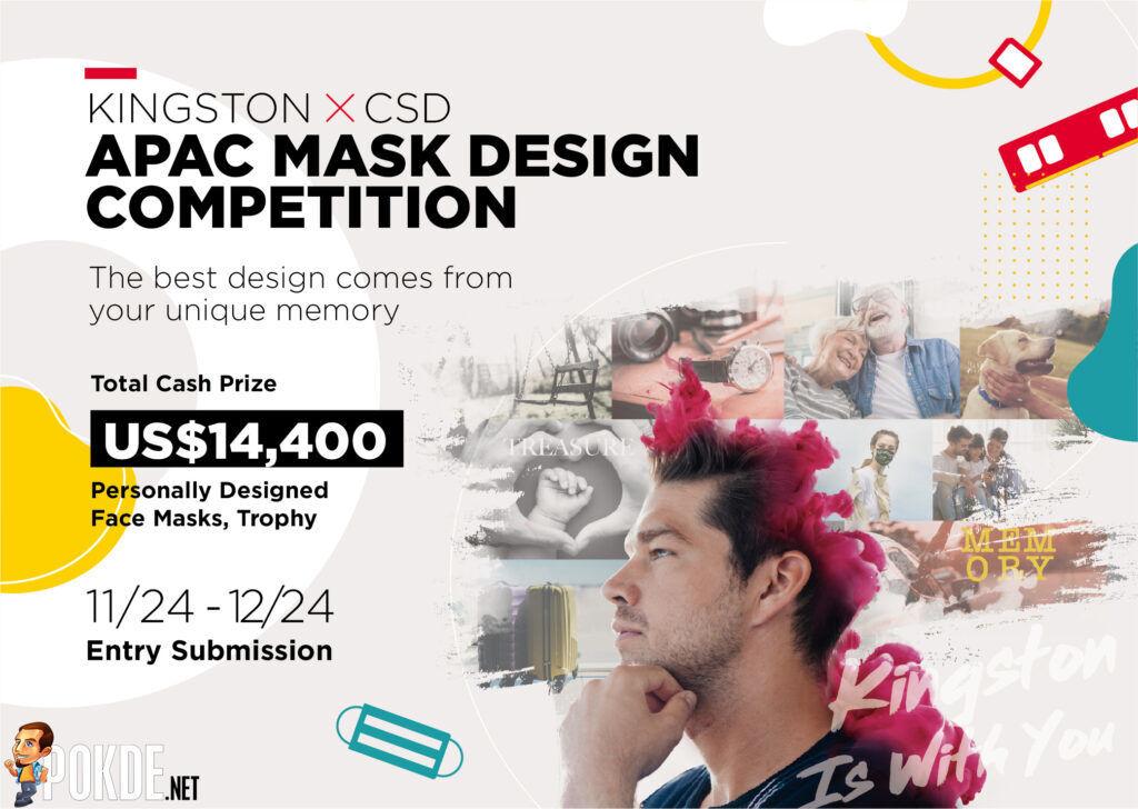 Kingston x CSD APAC Mask Design Competition