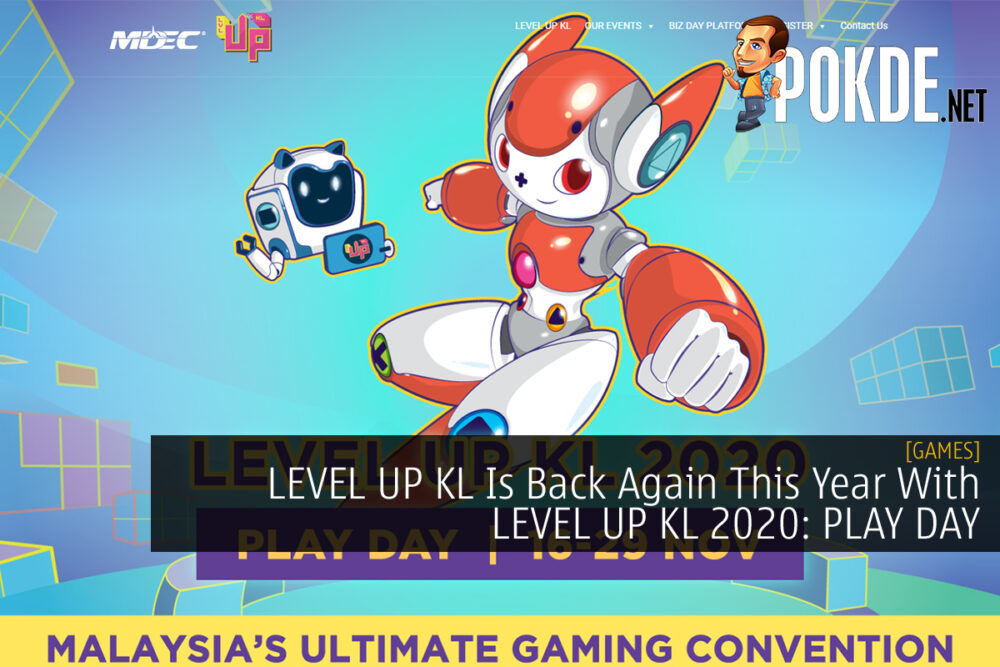 LEVEL UP KL 2020: PLAY DAY cover