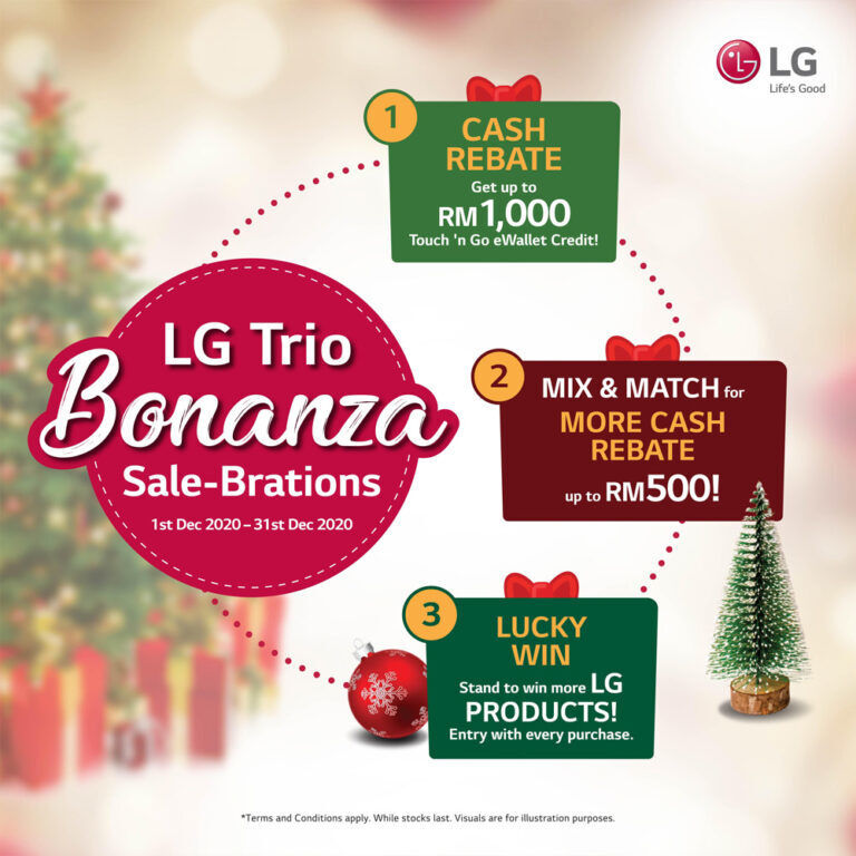 LG Malaysia Offering 40% Off On Home Appliances And More This Year End Sale 28