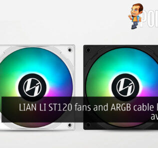 LIAN LI ST120 ARGB cable kit cover