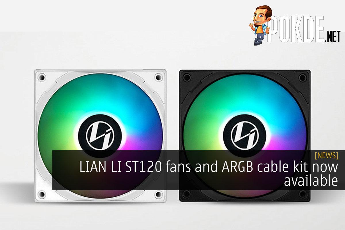 LIAN LI ST120 ARGB cable kit cover