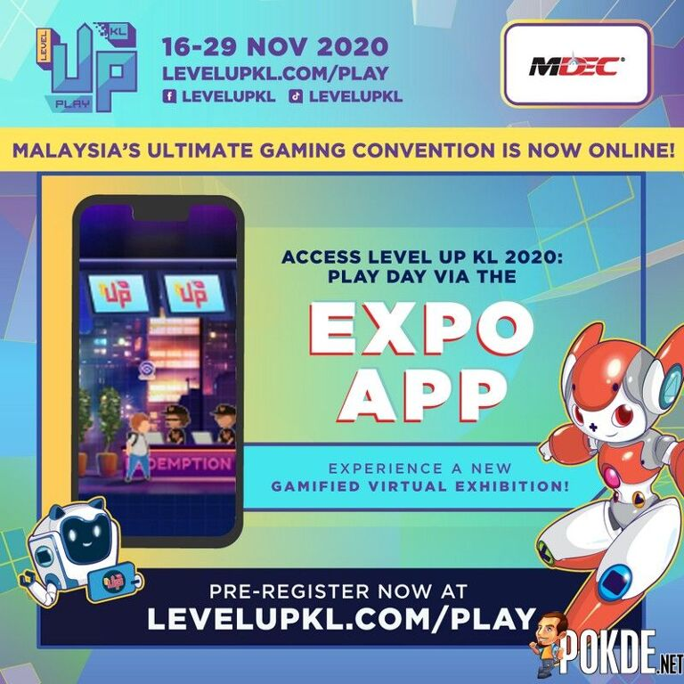 LEVEL UP KL 2020: PLAY DAY official app