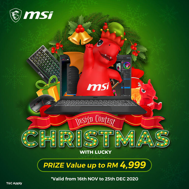 Get Creative With MSI's Christmas Lucky Design Competition To Win Big 20