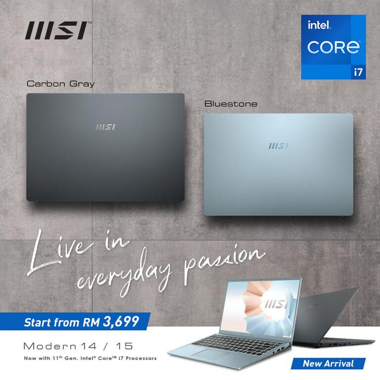 MSI's Intel 11th Gen MSI Modern Series Lands In Malaysia 24