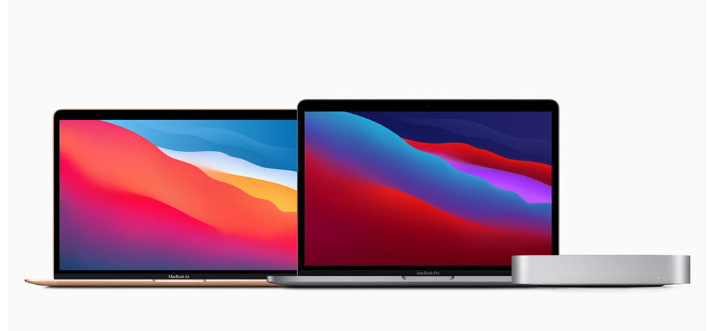 Apple M1 macbook air, macbook pro, mac mini