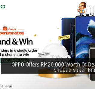 OPPO Offers RM20,000 Worth Of Deals This Shopee Super Brand Day 28