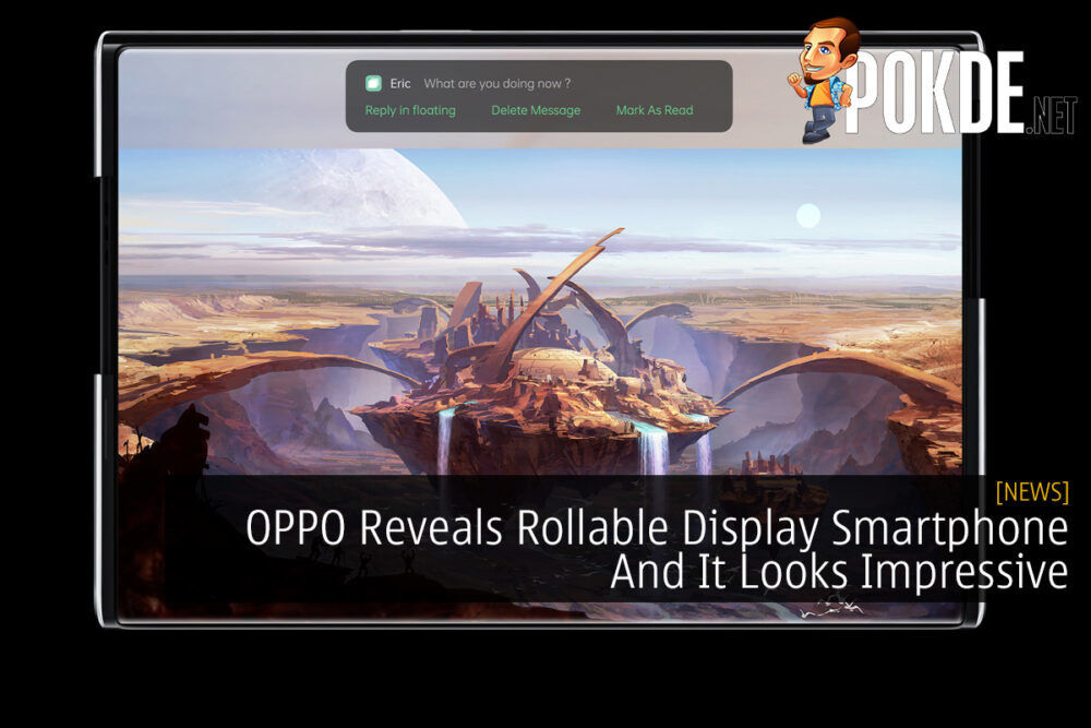 OPPO Reveals Rollable Display Smartphone And It Looks Impressive 20