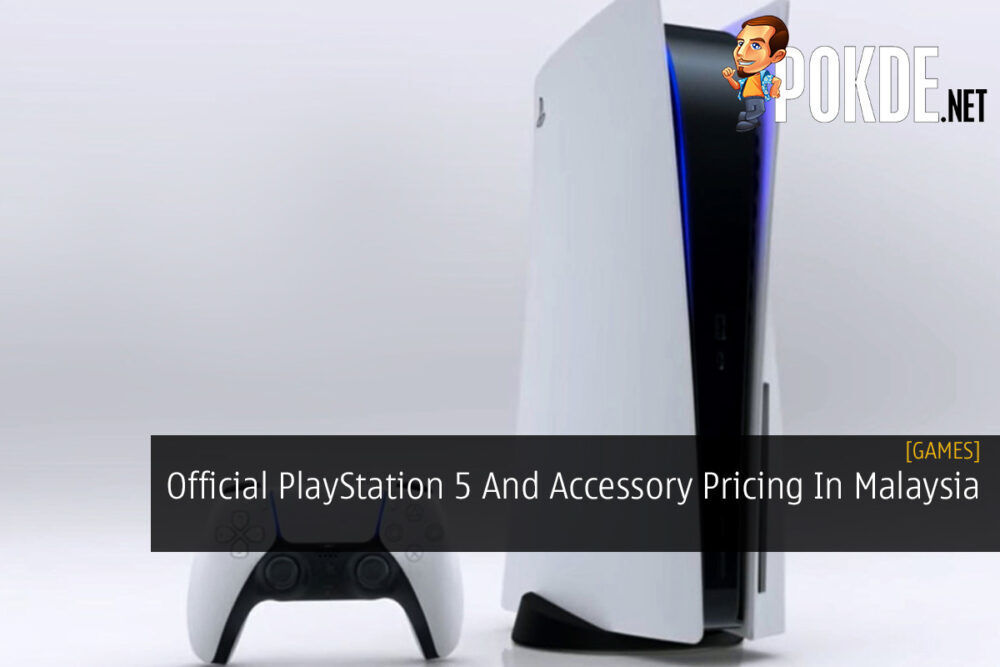 Official PlayStation 5 And Accessory Pricing In Malaysia 23