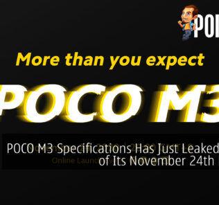 POCO M3 leak cover